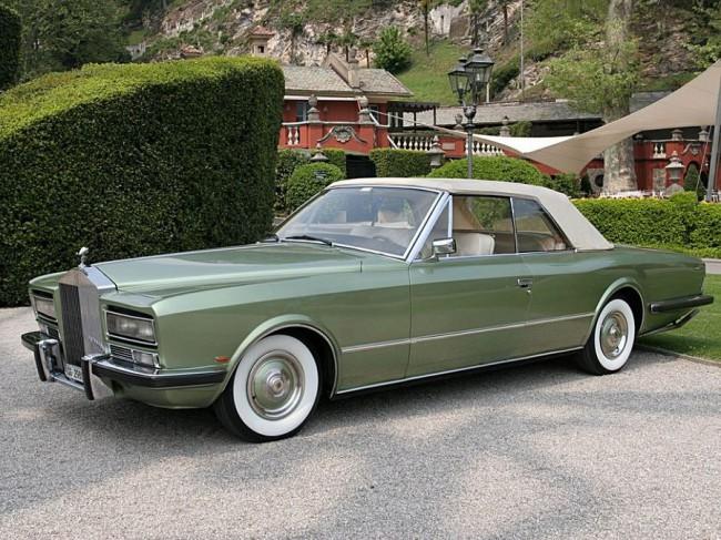 1973-ban, Phantom VI alapra az olasz Frua készített egyedi kabrió tanulmányt, Drophead Coupe néven