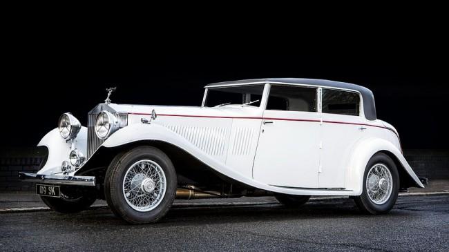 Egyszerű vonalvezetés, mégis lenyűgöző elegancia: Gurney Nutting felépítményes Phantom II 40/50 HP Continental Sports Saloon (1934)