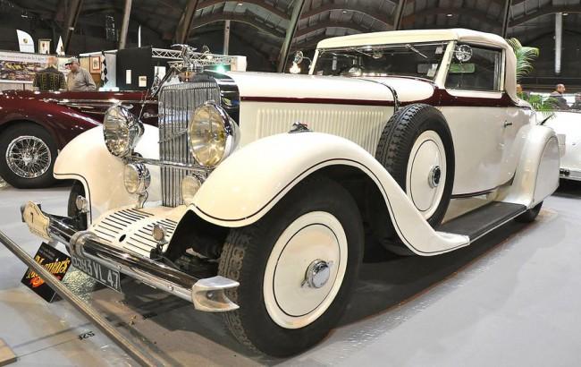 A guruló alváz és néhány háztömbnyire a felépítmény is Párizsban készült a Hispano Suiza HS26-hoz