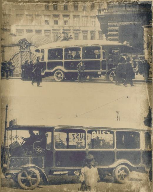 Egy hónapnál alig bírt többet a kistarcsai autóbusz, alul már az SZKV helyett a BUSZ Rt. cégjelzését viseli