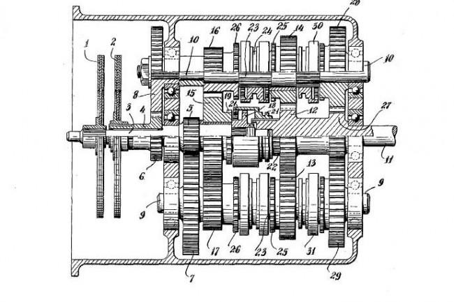 Ismerős: a Kégresse-féle kétkuplungos szerkezet elve a modern DSG robotváltóké