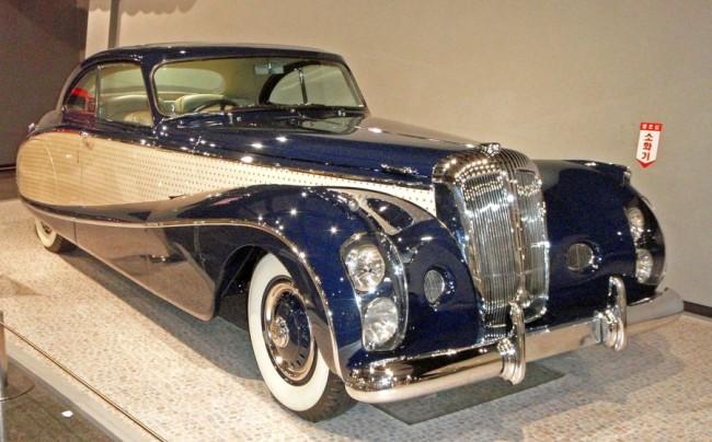 Lady D. guruló öltözője, a Blue Clover ma az USA egyik legpazarabb autógyűjteményében, a Blachhawk múzeumban áll