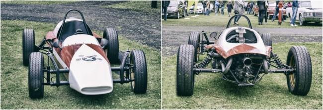 Eredetileg az Egyesült Államokban készültek a Formula V, vagy Vee versenyautók. Ezt a ritkaságot a Magyar Autóklub restauráltatta