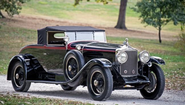 """Belga Rolls-Royce-nak is nevezték a Minervákat, csúszószelepes (""""síberes"""") Knight-motorokkal mentek. Így fest a D'Ieteren-művek 1927-es AF modellje"""