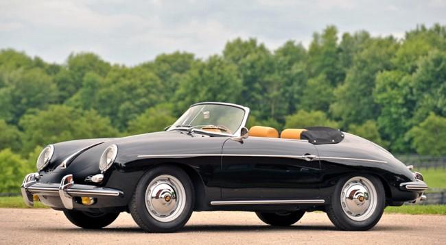 247 darab készült Belgiumban a Porsche 356 B dupla hűtőrácsos T6 sorozatából