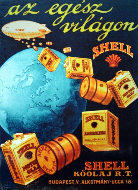 Magyarországon 1925 óta van jelen a Shell