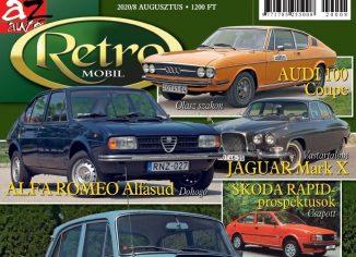 retro mobil,újság